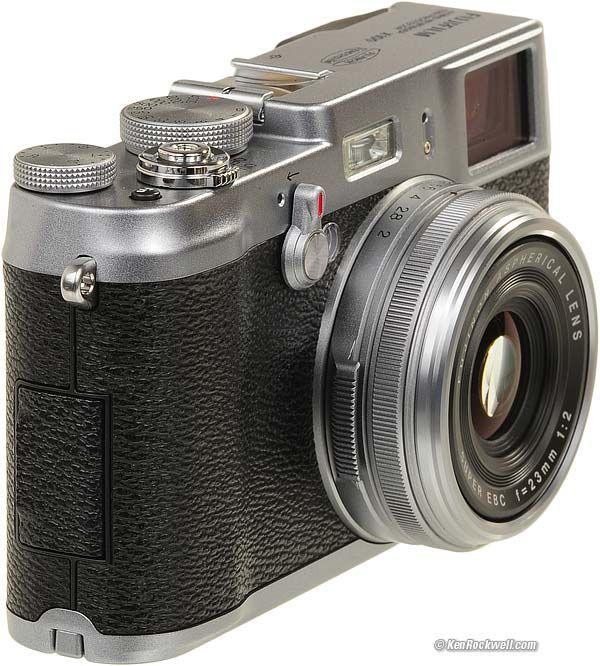 Fujifilm x100. Fixed lens folks, fixed lens.