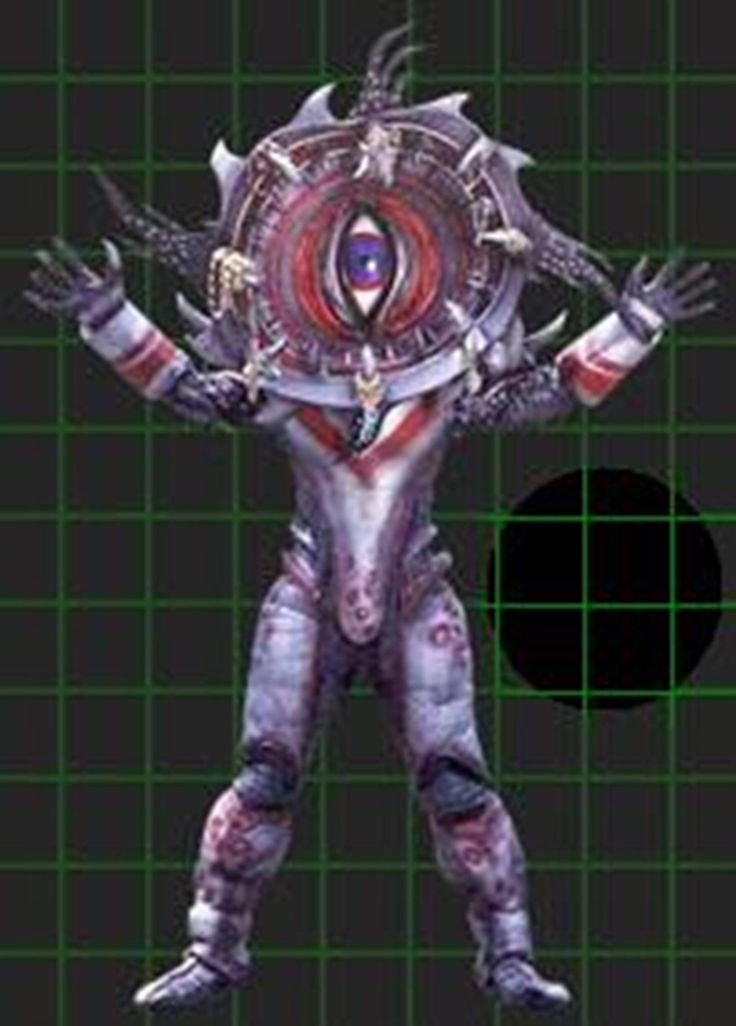 I searched for power rangers spd One-Eye images on Bing and found this from http://powerrangers.wikia.com/wiki/One_Eye