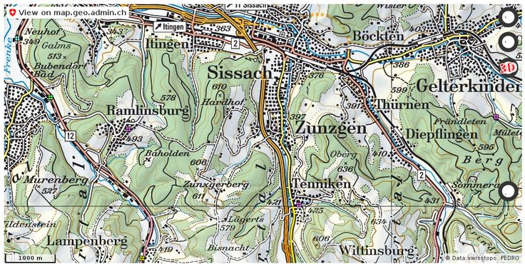 Zunzgen BL Unfall Verkehr Tote Statistik http://ift.tt/2i5If5G #karten #schweiz