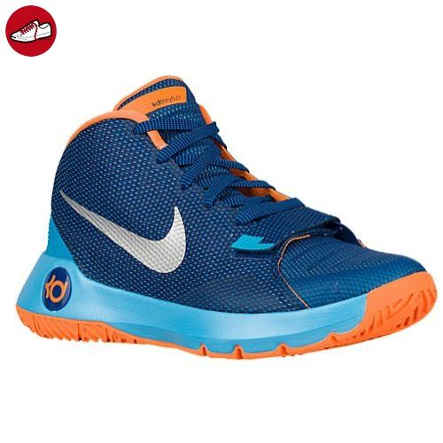Nike Herren KD Trey 5 Iii Basketballschuhe, Blau / Silberfarben / Orange (Insgn Bl / Mtllc Slvr-Bl Lgn-Brg), 42 EU - Nike schuhe (*Partner-Link)