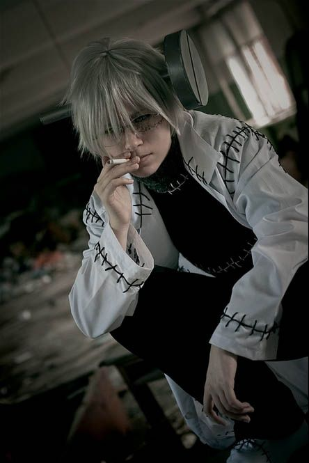 I salute that Stein cosplayer! Stein from Soul Eater just in case anyone's wondering!