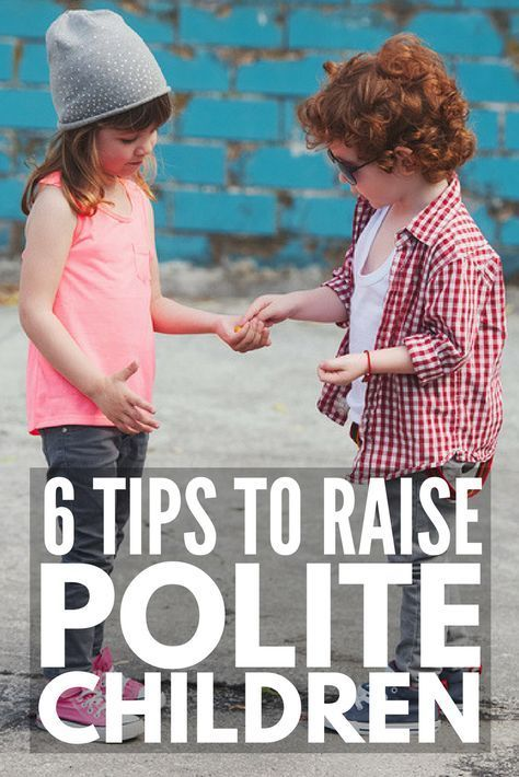 how to teach manners to preschoolers