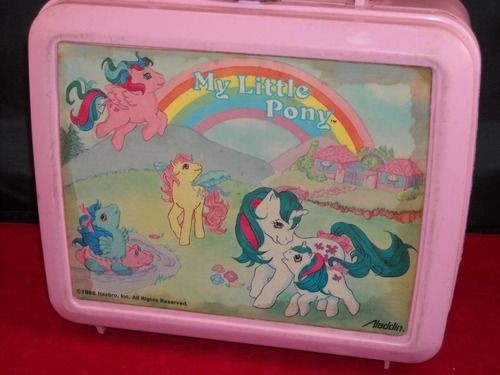 My Little Pony lunch box -  I totally had this in 1st gradeGrade Schools, 27 Photos, Lunch Boxes, Ponies Lunches, Childhood Memories, Schools Lunches, Lunches Room, Lunches Boxes, Ponies Lunchbox