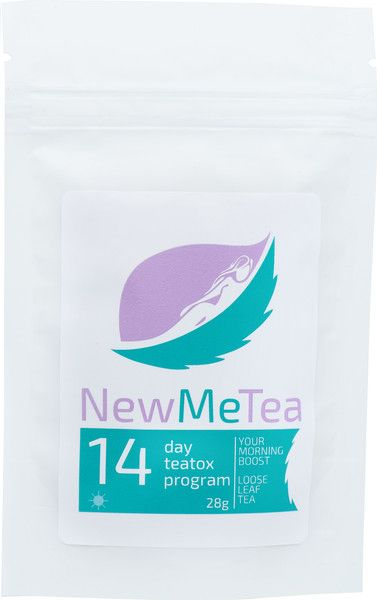 NewMeTea Morning Boost - 14 Day Teatox. Get yours at newmetea.net/products