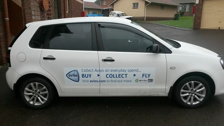 Here's Michelle's Avios branded car... #Buy #Collect #Fly