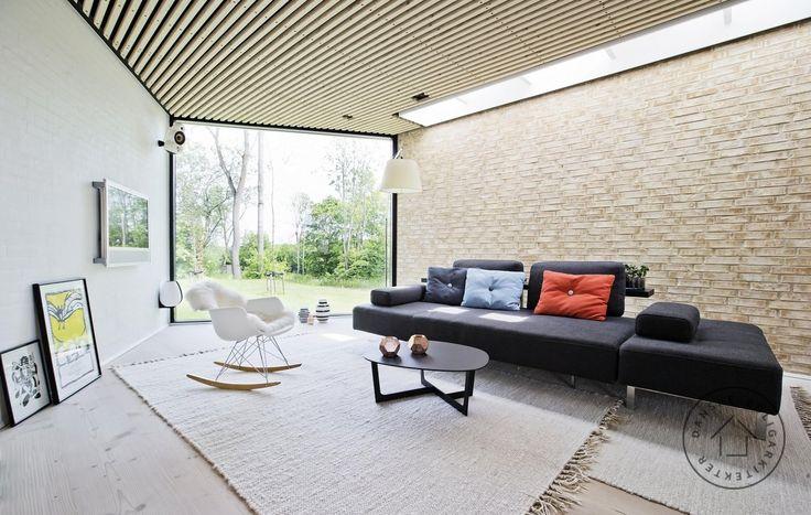 Villa V tegnet af NplusP arkitekter,