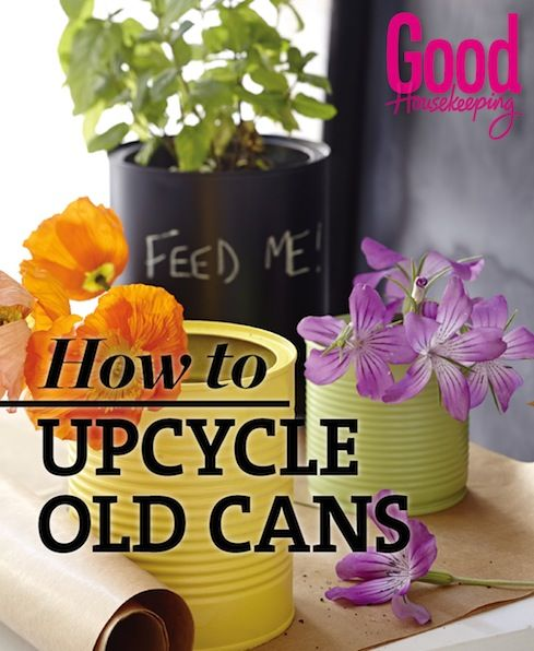 How to Upcycle Old Cans