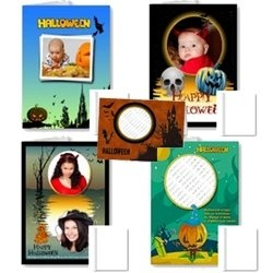 Personalize your Halloween with photo frame cards and gifts. Nothing is more enjoyable then receiving an invitation or gift box with a personalize...