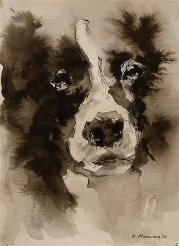 "Daily Paintworks - ""adopt36"" - Original Fine Art for Sale - © Katya Minkina"