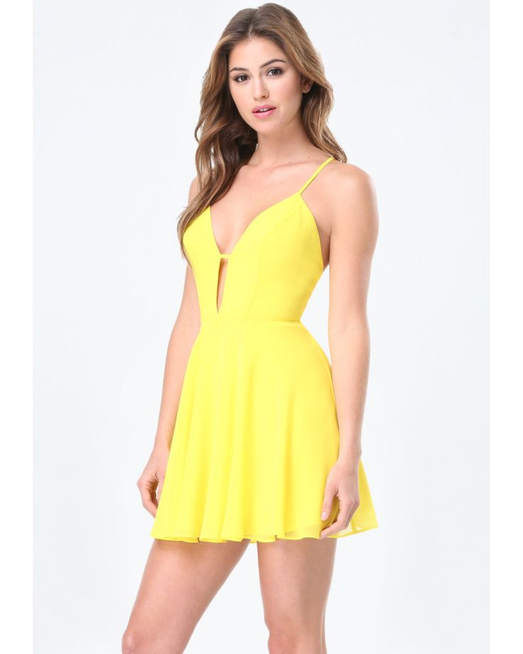 Dress 4 yellow naped
