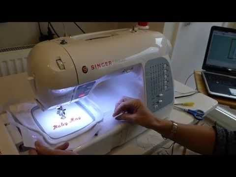 Pre-cut Applique Technique for Embroidery Machines Tutorial - YouTube