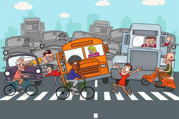 ¿Quién tiene la prioridad en la vía? http://www.mdeinteligente.co/estrategia/prioridad-movilidad-en-las-calles/