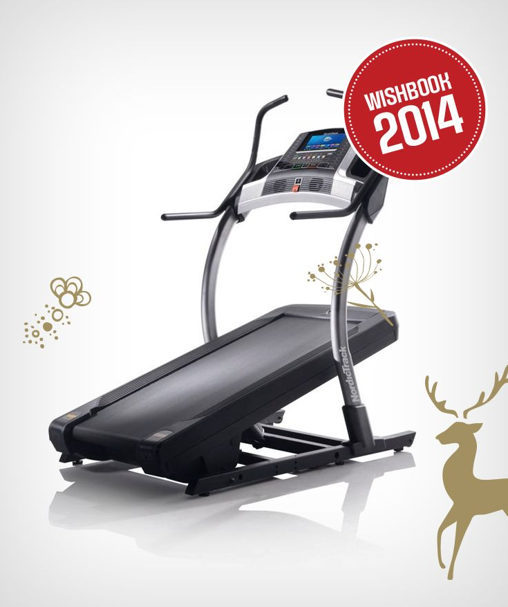 Walk your holiday feast off an incline trainer at home
