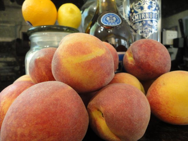Capturing the Essence of Summer - Making Peach Liqueur