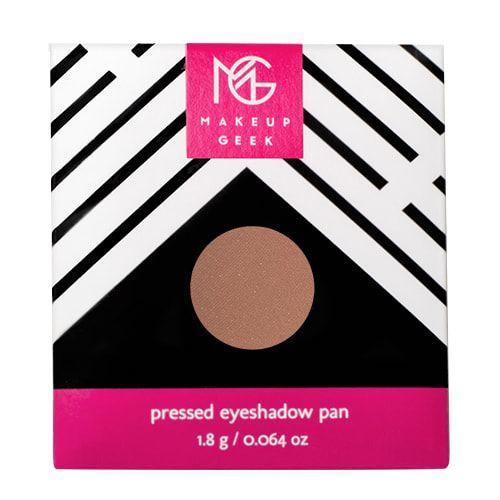 Makeup Geek Eyeshadow Pan - Latte #latte #makeupgeek #BBxMakeupGeek #beautybay