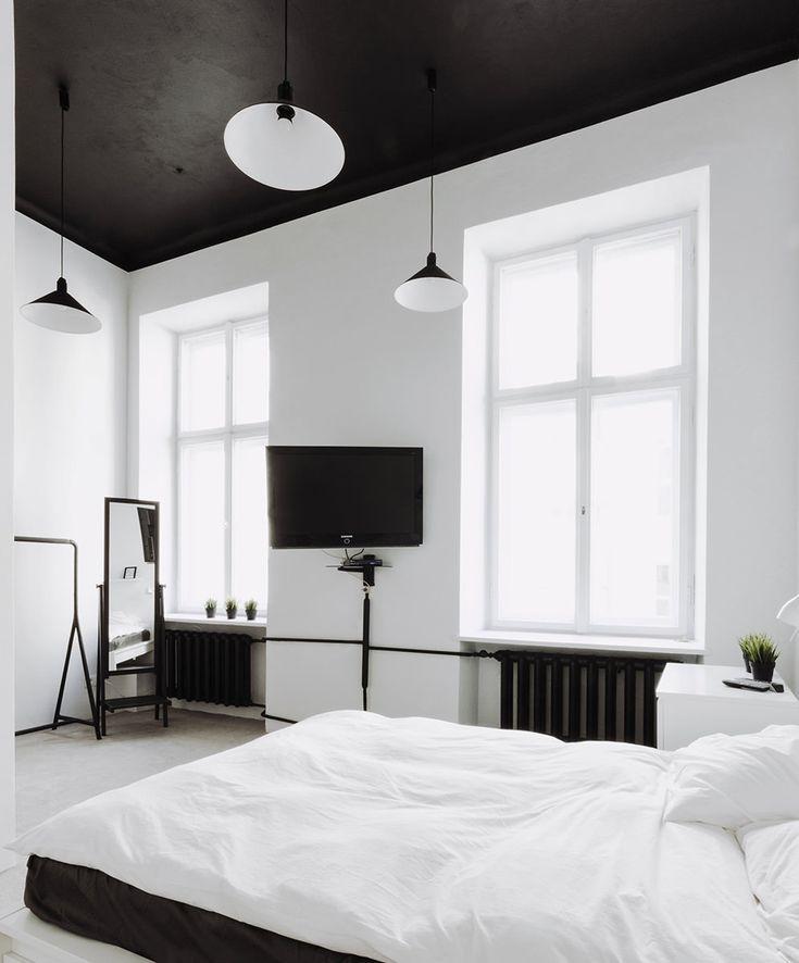 черные стены черный потолок - Google Search