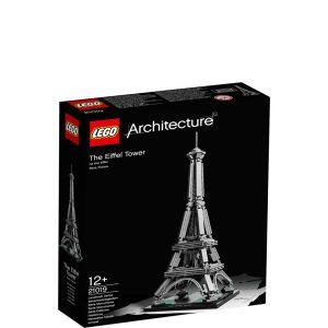LEGO Architecture: The Eiffel Tower (21019) Toys | Zavvi Australia
