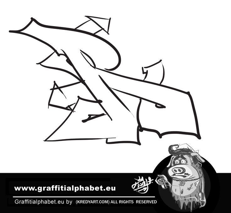 Learn how to make graffiti letter R in this graffiti tutorial by Kredy. This vid – GRAFFITI U. S. W