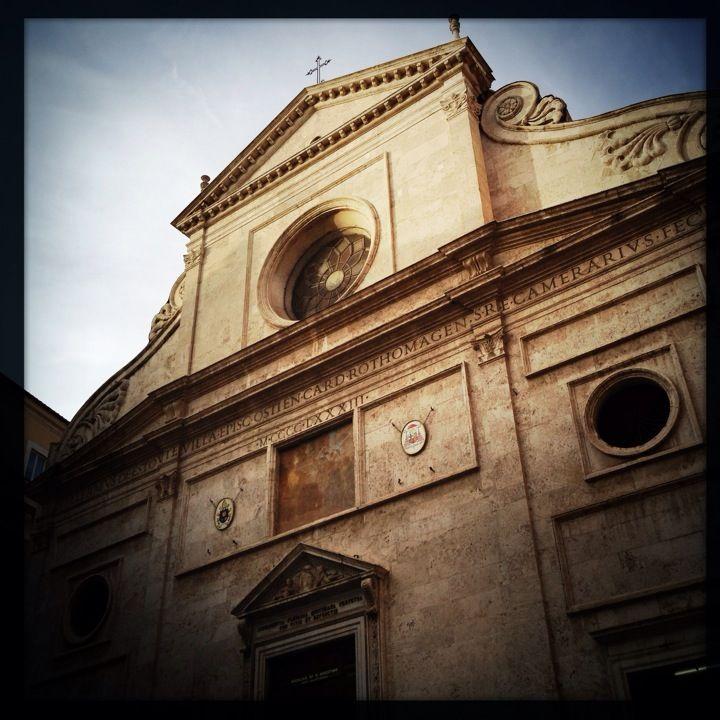 """Caravaggio's """"Madonna dei Pellegrini"""" is kept in this Basilica"""