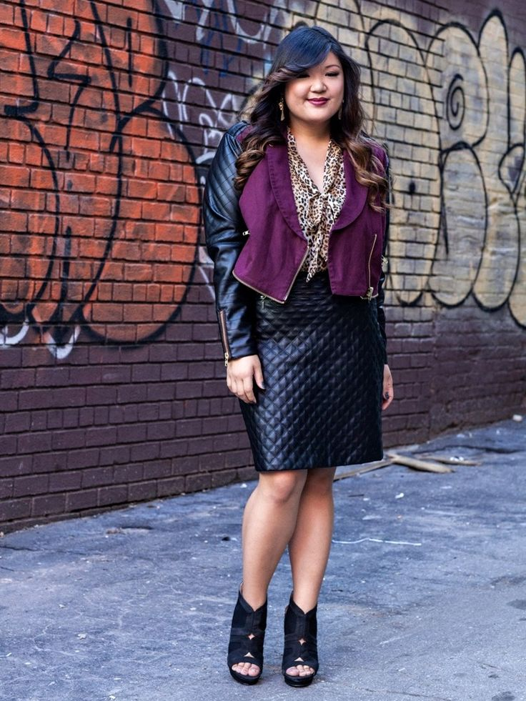 98 Best Images About Leather Plus Size