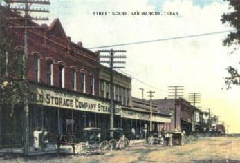 san marcos tx square historical pictures   San Marcos Texas Travel, History, San Marcos Hotels.