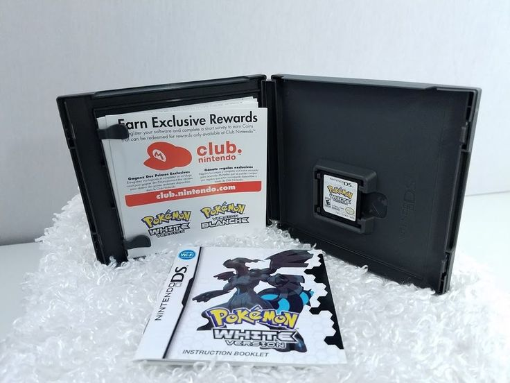 Pokemon White Version (Nintendo DS) 3DS  w/Case & Manual COMPLETE (Pokedex 440)