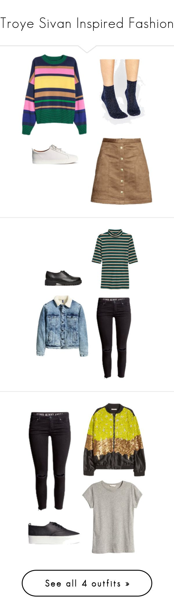 """""""Troye Sivan Inspired Fashion"""" by mrbell-2000 on Polyvore featuring women's clothing, women, female, woman, misses and juniors"""