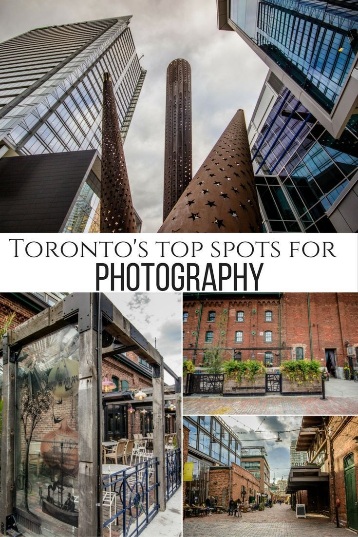 The CN Tower may be the most photographed landmark in Toronto, but there are plenty of other spots for photographers to explore. Here are some of the best, including Graffiti Alley and the Distillery District.