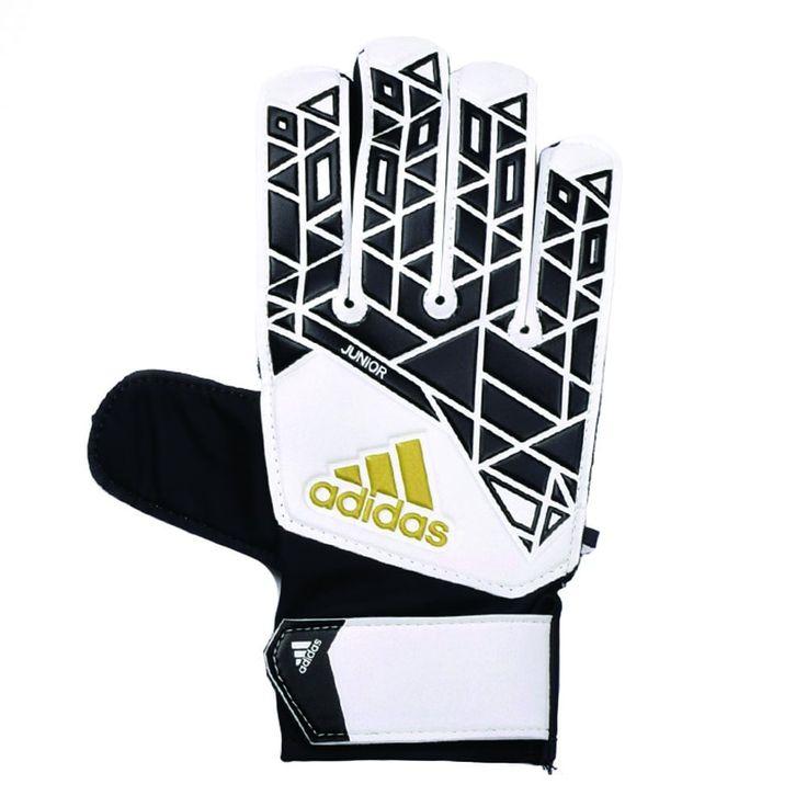 Image result for goalkeeper gloves junior black and white adidas