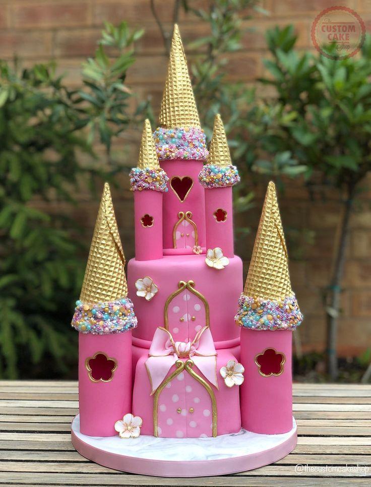 Princess Fairytale Castle Cake  – Kids cake idea