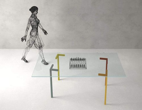 iDesignMe_Axys_table-web http://idesignme.eu/2013/04/lago-living/ #news #design #interiors #furniture #Lago #furnishing #MilanDesignWeek #Fuorisalone2013 #SaloneDelMobile #table #glass