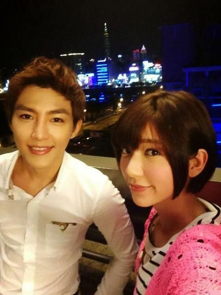 just you <3 aaron yan and Kuo Puff :3