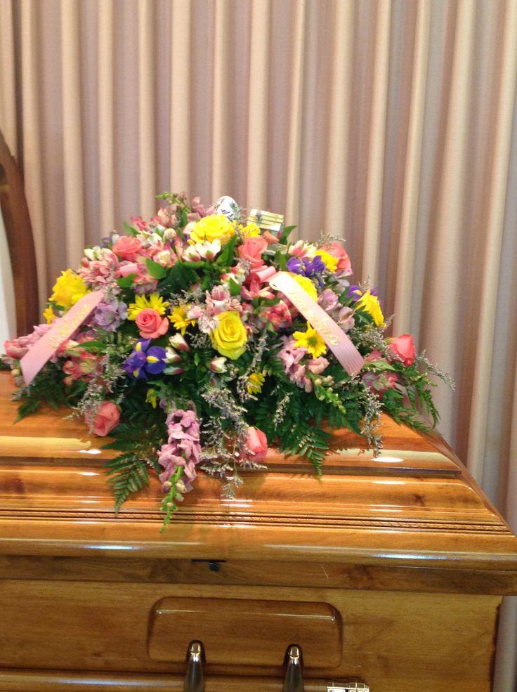 A peek inside the flower barn as I make a casket spray ...  |Casket Flowers