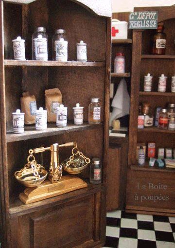 Pharmacie herboristerie La Boite à poupées