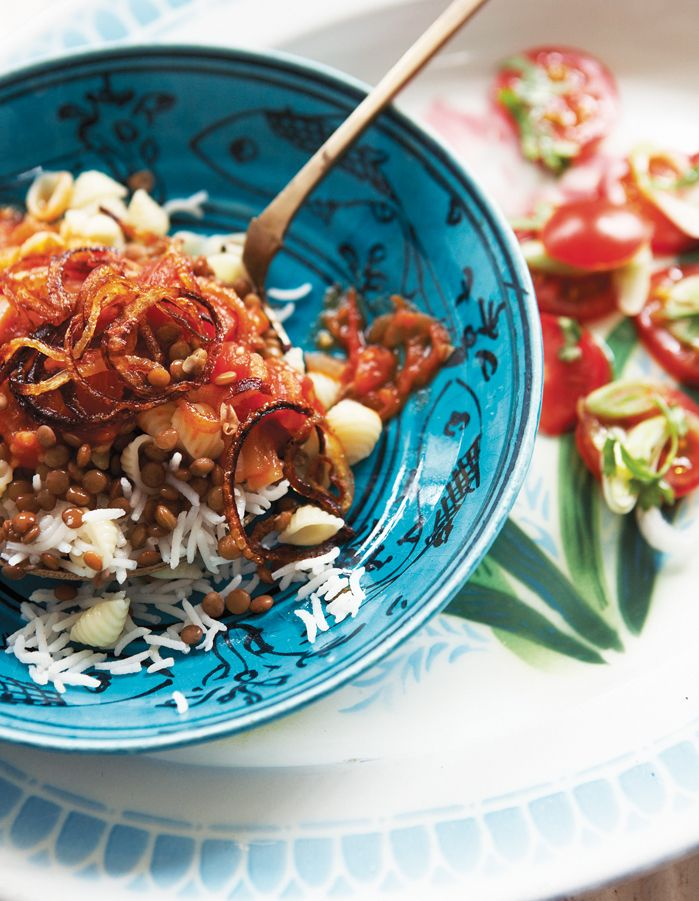 30 best delicious recipes images on pinterest delicious recipes kushari recipe sensational egyptian street food dish from sally butchers veggiestan forumfinder Gallery
