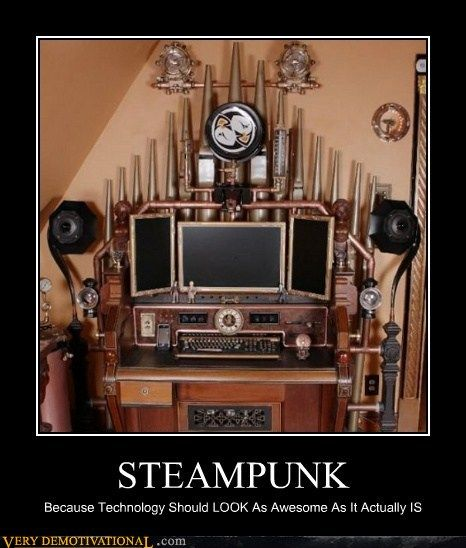 This Steampunk poster filled my heart with joy!