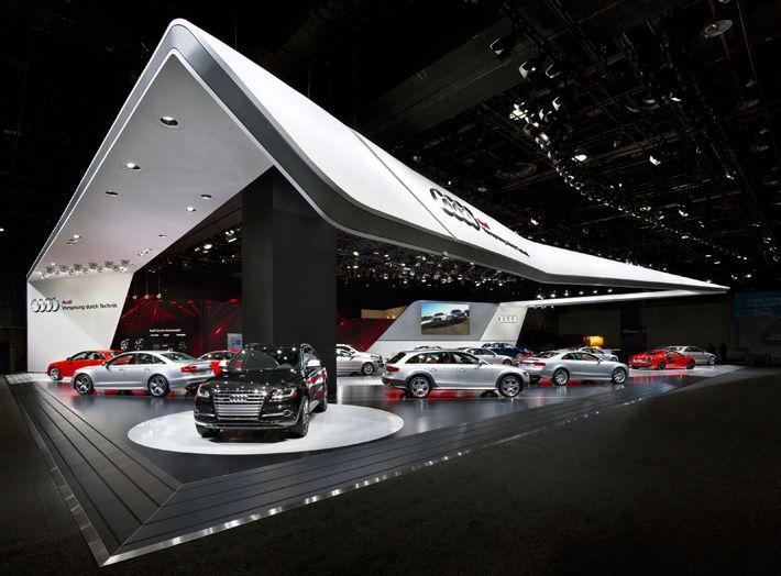 Start of the trade fair year: Audi at Detroit Auto Show 2013 | Schmidhuber