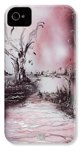 Porcelain River IPhone 4 / 4s Case Printed with Fine Art spray painting image Porcelain River by Nandor Molnar (When you visit the Shop, change the orientation, background color and image size as you wish)