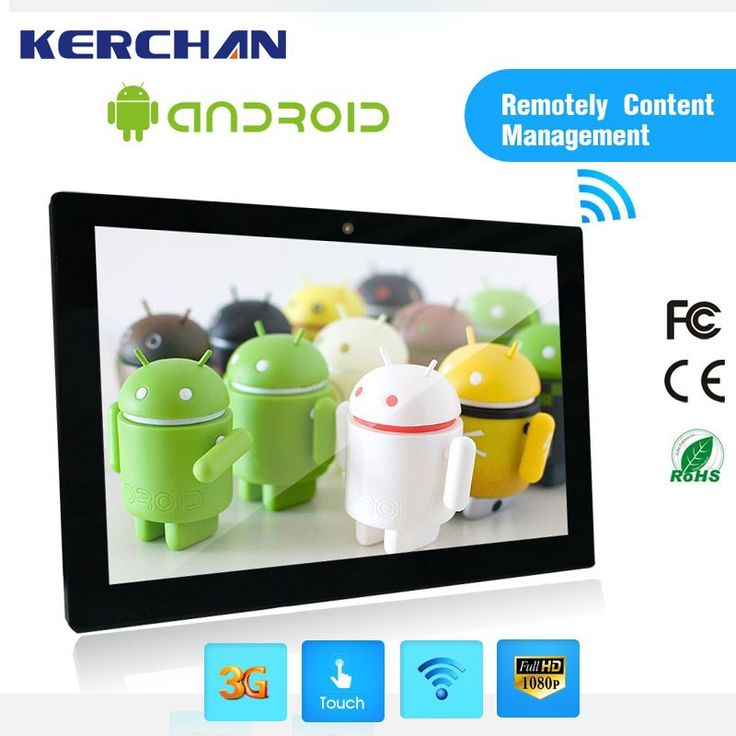 Wall Mount 10 inch Android Tablet laptops with WiFi/Bluetooth/3G