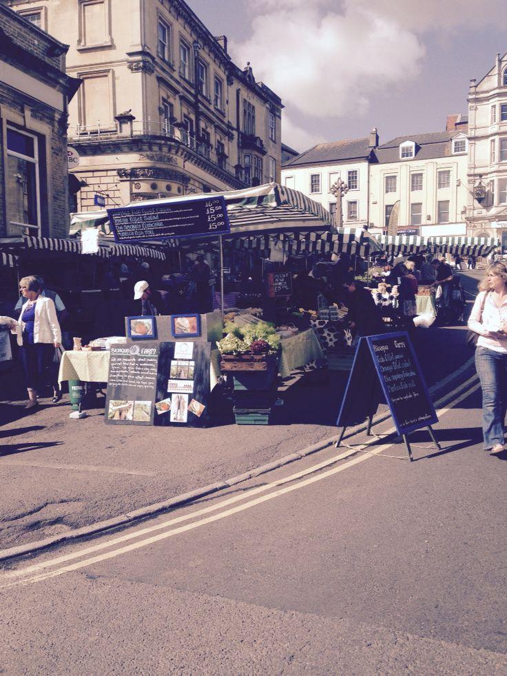 Sunday market, Frome, Somerset
