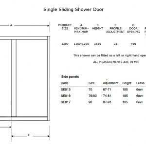 sliding glass patio doors standard size - Patio Door Sizes