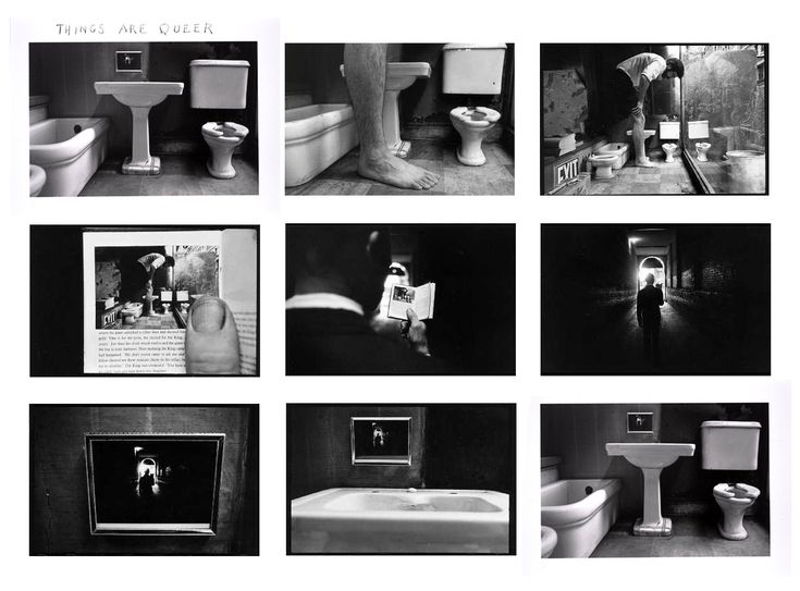 "Duane Michals: ""Things are queer"""