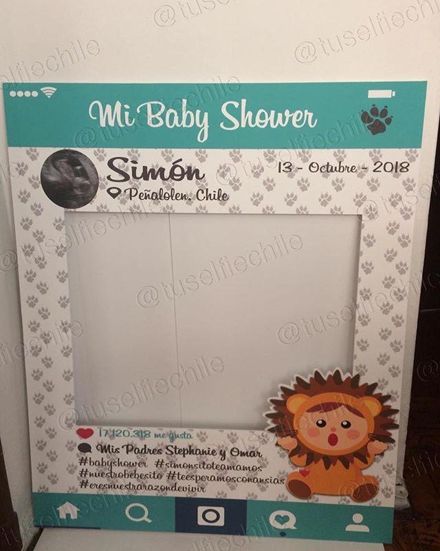 23 Cuadro de selfie para baby shower