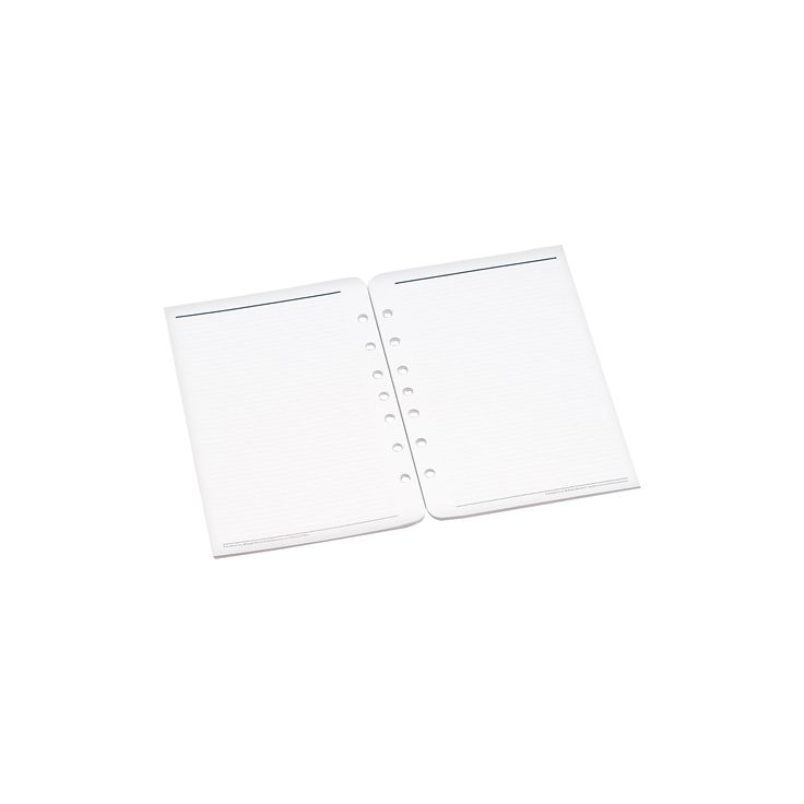 FranklinCovey Lined Pages for Organizer, 5 1/2 x 8 1/2, White