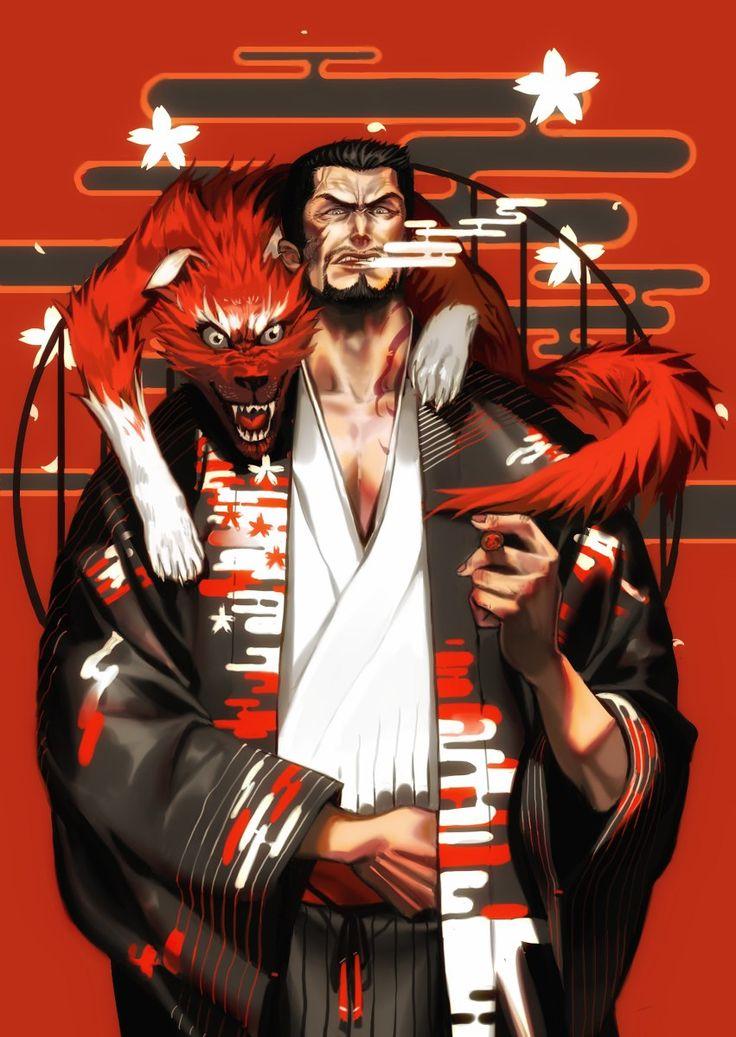 One Piece- Akainu; Sakazuki