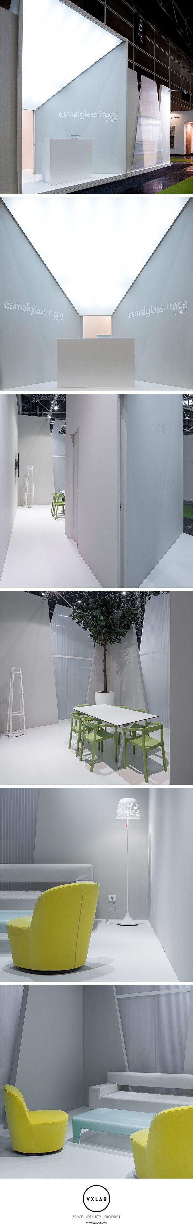 Esmalglass - Itaca Group at Cevisama Ceramic Tile Exhibition 2015. Design by VXLAB Branding & Design Management: www.vxlab.org