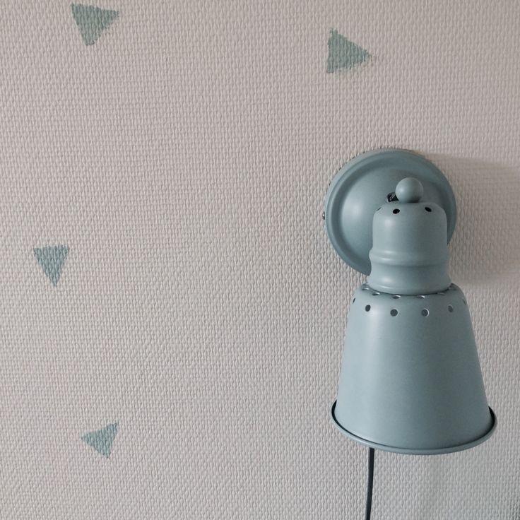 Sebra, kalk maling, Annie Sloan, duck eeg blue, vintage, Childrens room