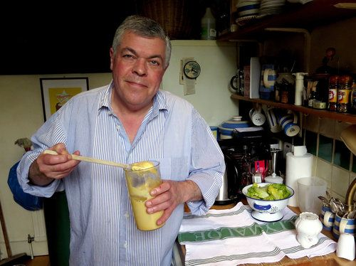 Chef Simon Hopkinson shows you how to make your own Mayonnaise!!!