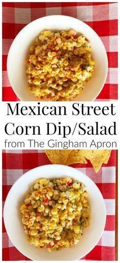 Mexican Street Corn Mexican Street Corn Dip or Salad! Perfect...  Mexican Street Corn Mexican Street Corn Dip or Salad! Perfect for Cinco de Mayo (or any other day you want a delicious flavorful dish!). Recipe : http://ift.tt/1hGiZgA And @ItsNutella  http://ift.tt/2v8iUYW