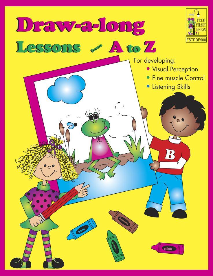 DRAW-A-LONG LESSON A-Z PDF (129 PGS) - Teacher Resources - Books | Frog Street Press